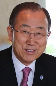 Ban Ki-moon. Secretary - General, UN. Photo by  ITU Pictures from Geneva, Switzerland