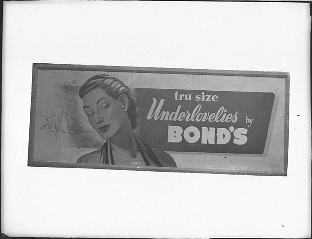 Bond's ads (taken for General Display Co.)